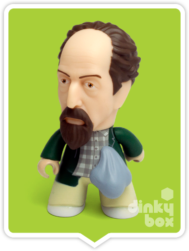 Titans X-Files Lanny vinyl figure available to purchase in the UK via your friendly dinkybox store.