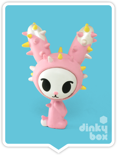 "OPEN BOX Tokidoki Cactus Pets S1 : 3"" Hoppy Bunny (complete with all original packaging) - moosedinky"