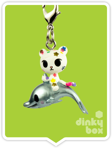 "OPEN BOX Tokidoki Sea Punk Frenzies : 1"" Palette & Nautica zipper-pull / charm (complete with all original packaging) - moosedinky"