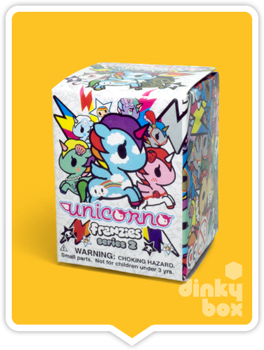 BLIND BOX : Tokidoki Unicorno Frenzies S2 Collectable Zipper PUll/Charm - Just who will arrive at your UK home? 8yrs+ - moosedinky