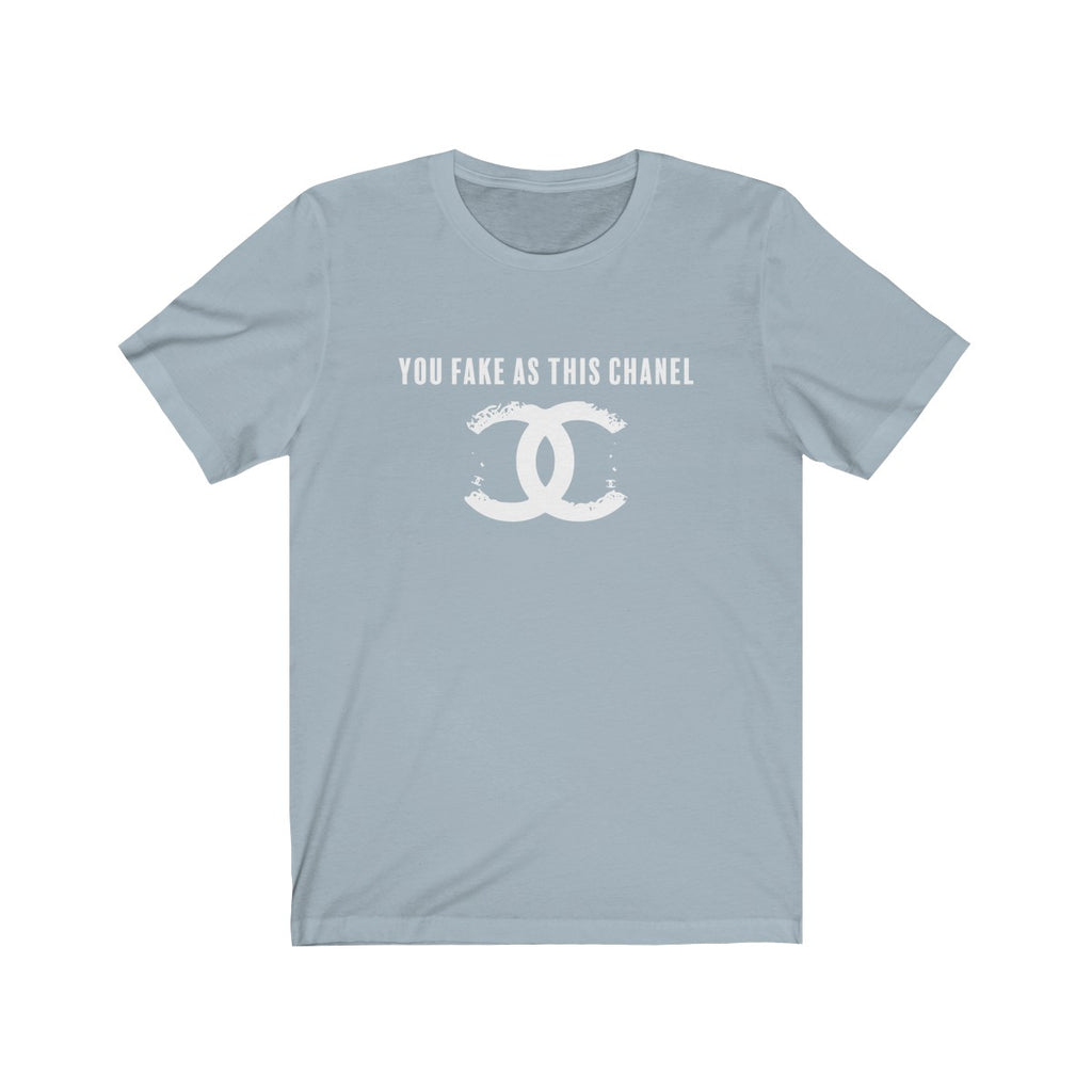 You Fake Jersey Short Sleeve Tee Light Blue