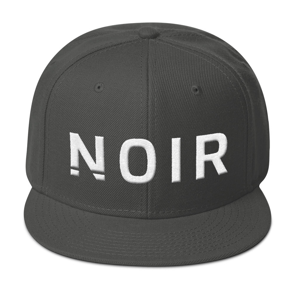 Noir Girl Magic Noir Snapback Cap Charcoal Gray