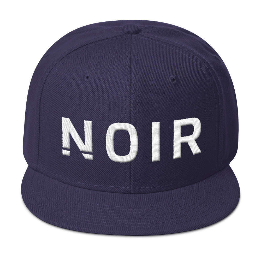 Noir Girl Magic Noir Snapback Cap Navy