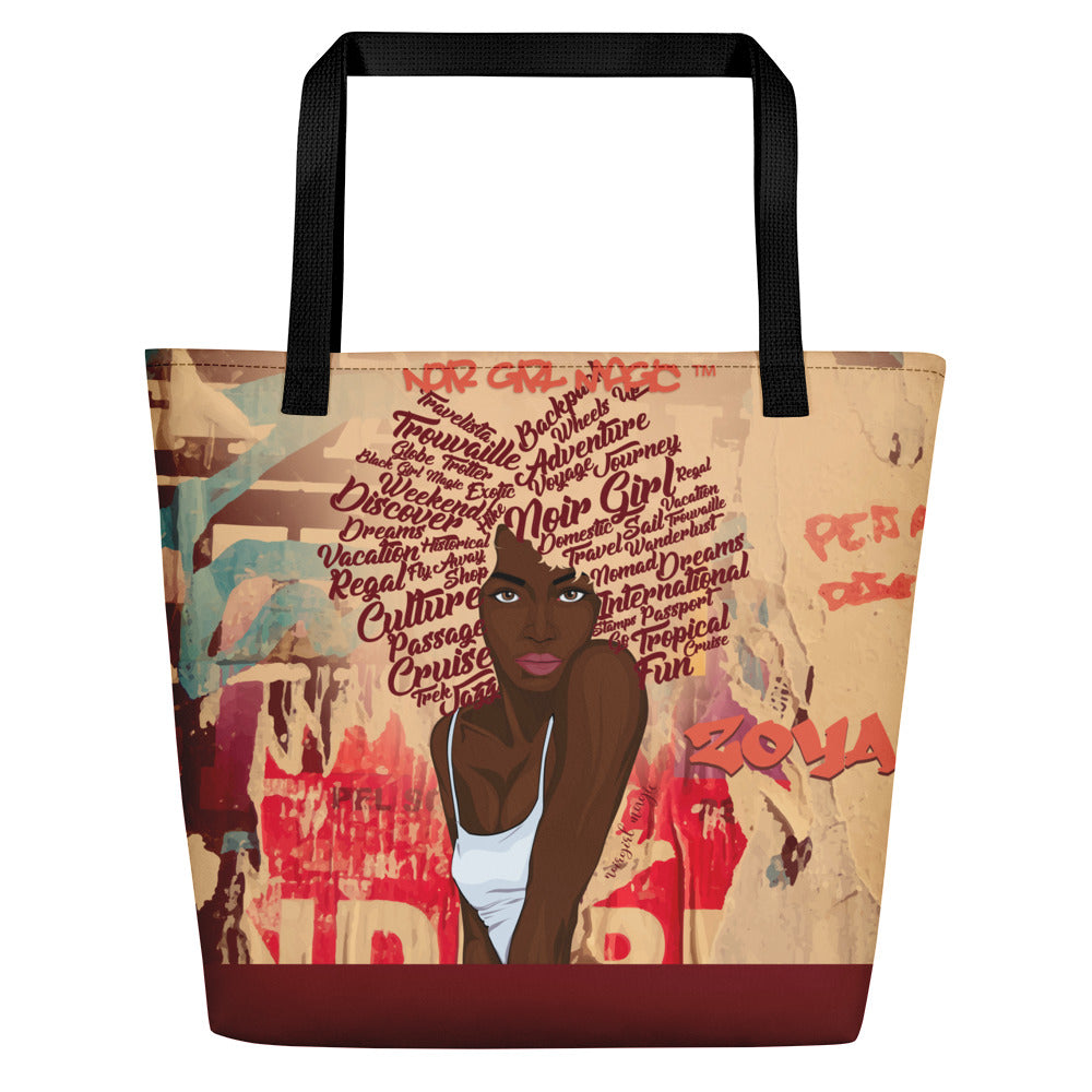 Zoya Graffiti Carry All Bag