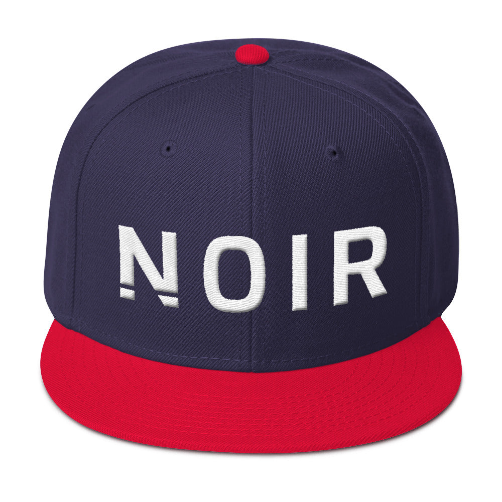 Noir Girl Magic Noir Snapback Cap Red Navy