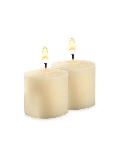 10 Hour Unscented Votive Candles Ivory