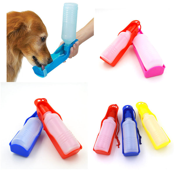 Portable & Foldable Dog Drinking Water Bottle