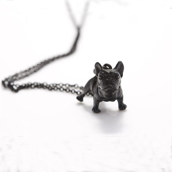 Beautiful & Cute French Bulldog Pendant Necklace