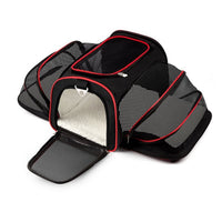 Multifunction Pet (Small Dog & Cat) Airline Approved Kennel and Car Travel Carrier