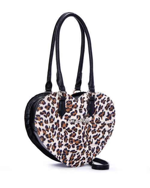 Love You Tote Brown Leopard - Limited Edition - Mini Atomic Totes