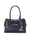 Route 66 Tote Black Matte and Midnight Sparkle - Mini Atomic Totes