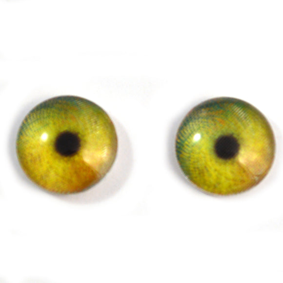 16mm Swirling Animated Color Changing Glass Eyes