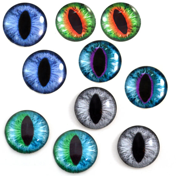 Cat Glass Eyes Bundle - 5 Pairs