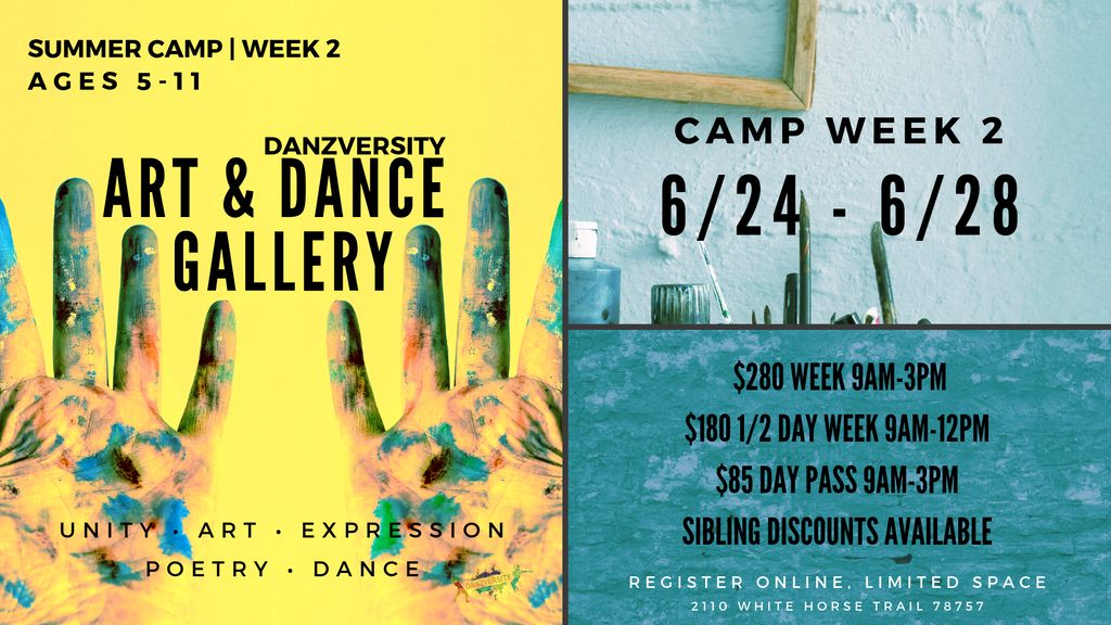 DANZVERSITY SUMMER CAMPS 2019 WEEK 2
