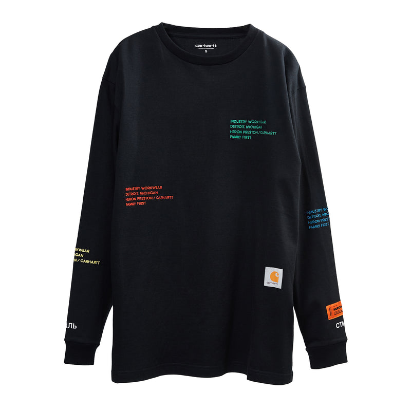Heron Preston X Carhartt WIP Long-sleeve T-shirt