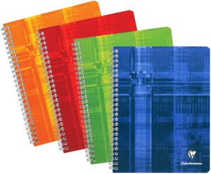 Clairefontaine Classic - Seyes / French Ruled - Wire Bound - A4