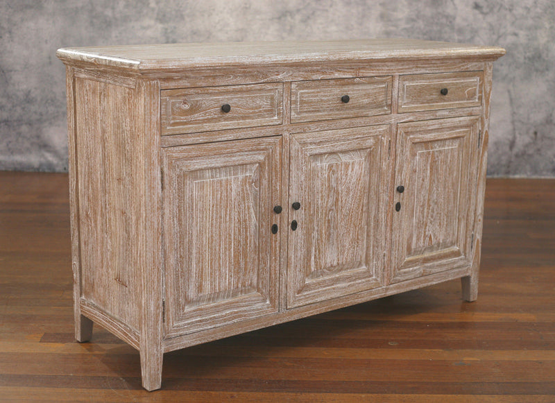 Buffet Chest French Provincial Country Solid Hardwood Sideboard 140cms