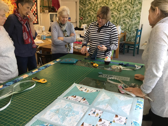 Next Steps Patchwork Course starts Wed 4th Sept 6.30pm-9.30pm
