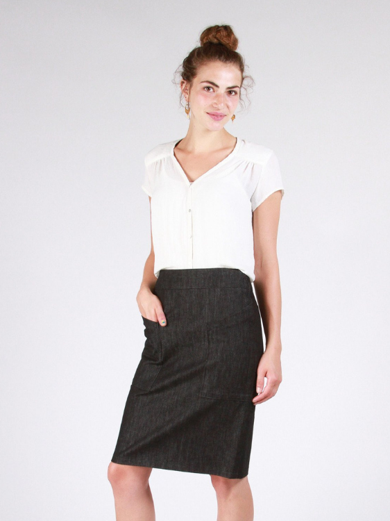 Alberta St Pencil Skirt by Sew House Seven