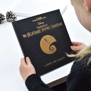 Personalised Nightmare Before Christmas Story Book from Pukkagifts.uk