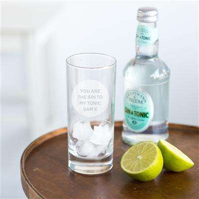 Personalised Gin Glass from Pukkagifts.uk