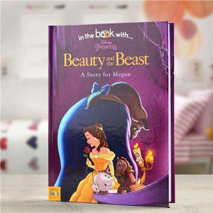 Personalised Disney Beauty and The Beast Story Book from Pukkagifts.uk