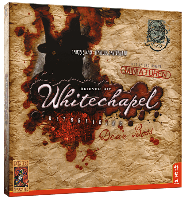 Brieven uit Whitechapel: Dear Boss - Game Potion
