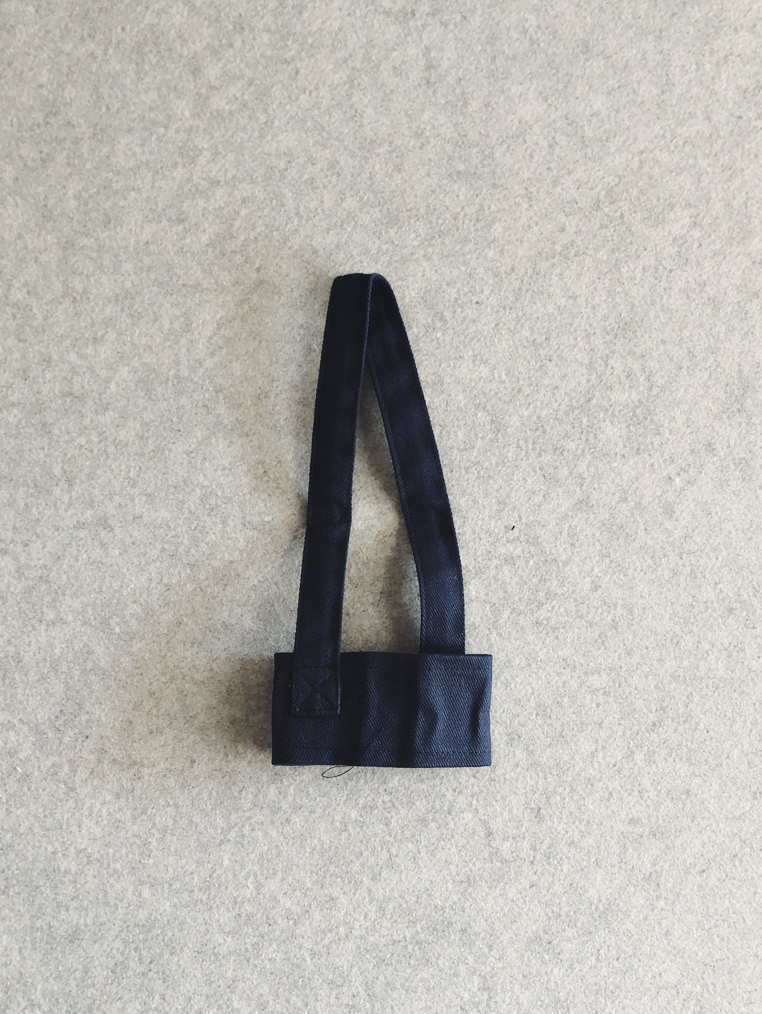 Reusable Canvas Cupholder (Navy)