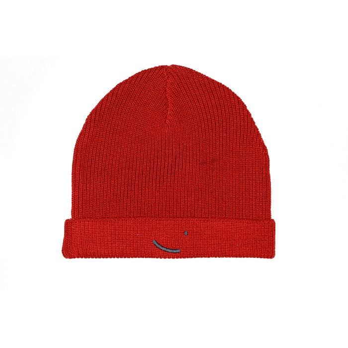 Merino Wool beanie Cairo Red