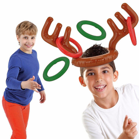 Image of Inflatable Reindeer Party Game