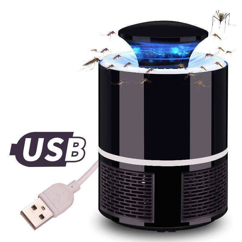 USB Electronic Mosquito Killer Trap LED 110V/220V