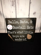 Balls, Bats, and Baseball Hats