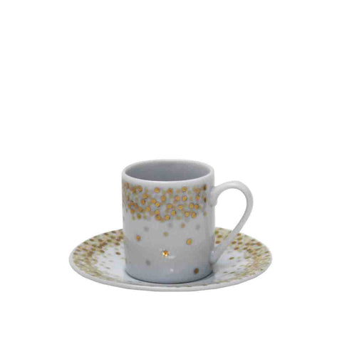 Espresso Cup & Saucer from China Blue