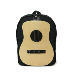 Acoustic Guitar Canvas Backpack