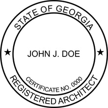 Georgia Architect - Prostamps