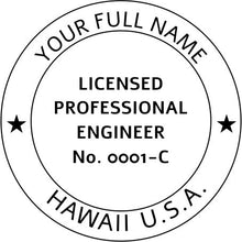 Hawaii Engineer - Prostamps