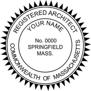 Massachusetts Architect - Prostamps
