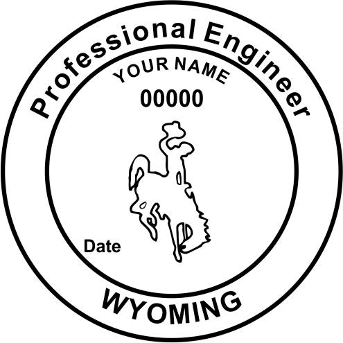 Wyoming Engineer - Prostamps