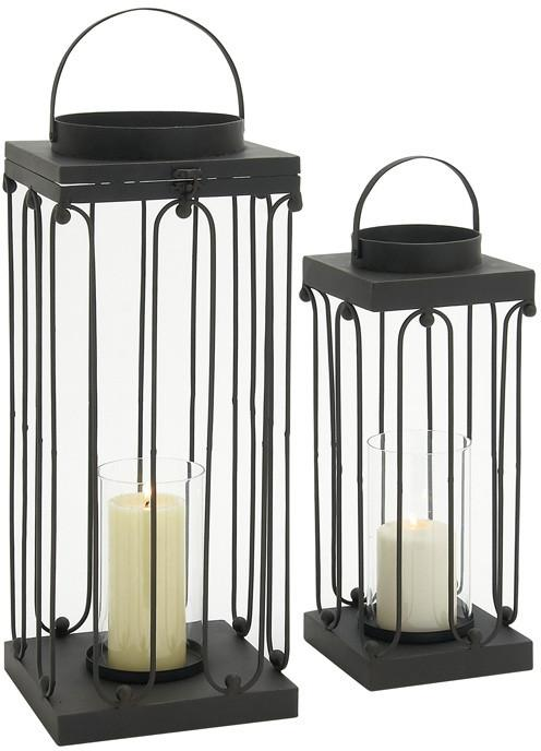 Lantern | Candle | Metal | Glass | Hill