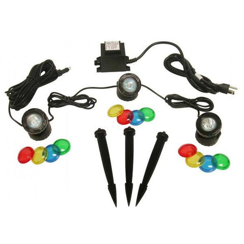 Alpine PLM310T Power Beam Set of 3, 10 W Lights w/ Transformer 23 Ft. Cord - Peazz.com
