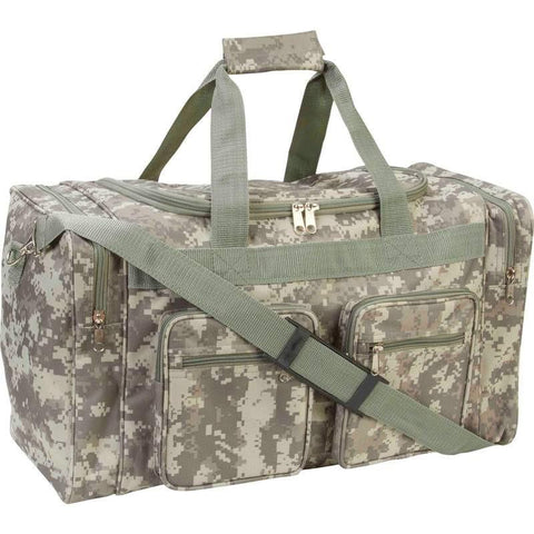 B&F System LUBL21DC Extreme Pak Digital Camo Water-Resistant 21 Tote Bag - Peazz.com