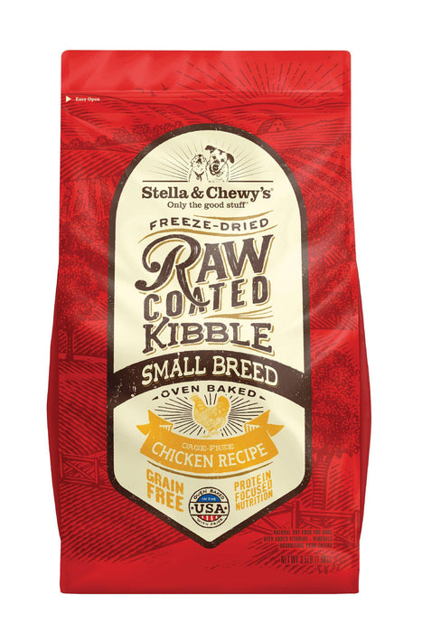 Stella & Chewy's Raw Coated Cage-Free Chicken Recipe Small Breed Dog Food