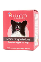 Herbsmith Senior Dog Wisdom Cognitive Support for Dogs Soft Chews Supplement