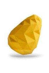 Ruffwear Gnawt-A-Cone Dandelion Yellow Dog Toy