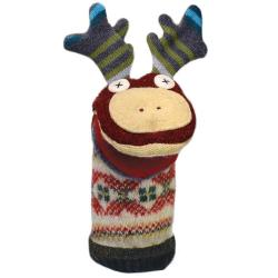 Hand Puppet Wool Moose
