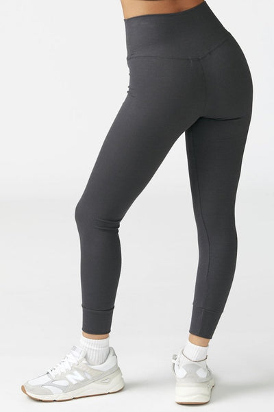 Balance Legging by Joah Brown in Charcoal Flexrib - Back view