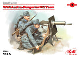 ICM Military 1/35 WWI Austro-Hungarian MG Team Kit