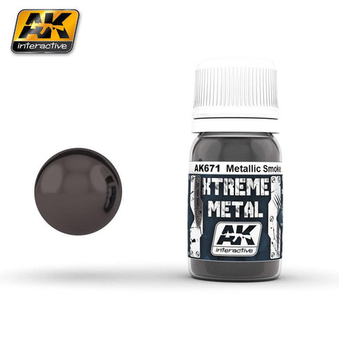 AK Interactive Xtreme Metal Black Base 30ml Bottle