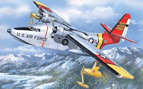 A Model From Russia 1/144 HU16B Triphibian USAF Transport Hydroplane Kit