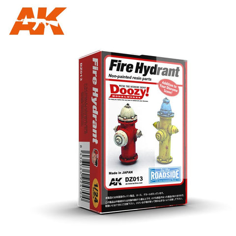 AK Interactive 1/24 Doozy Series: Fire Hydrants (2) (Resin)